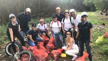 Panama coastal cleanup